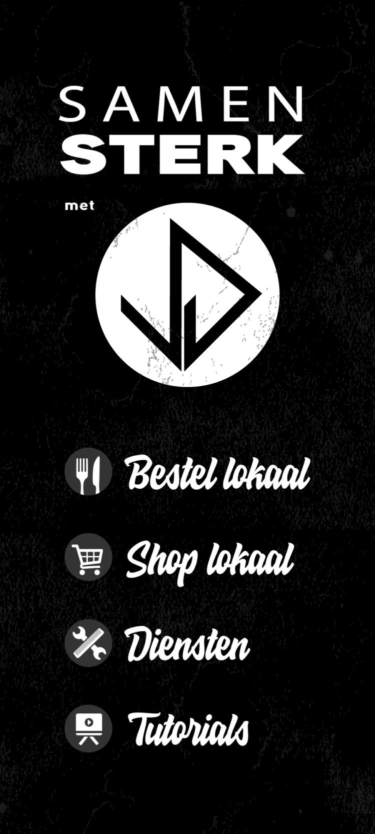 Samen Sterk! Bestel lokaal - Shop lokaal - Diensten - Tutorials - BeU agency