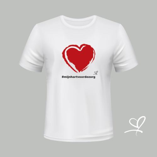 T-shirt #mijnhartvoordezorg